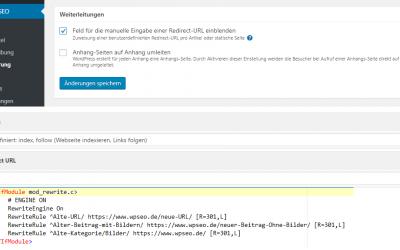 Redirect 301 – URL-Weiterleitung bzw. Maskierung von Links
